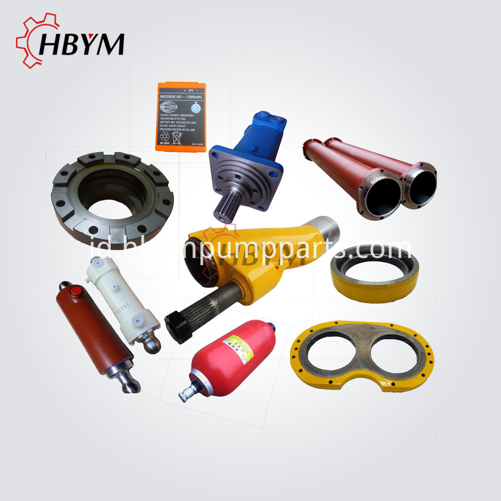 Zoomlion Concrete Pump Spare Parts