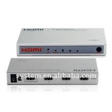 Interruptor inteligente del alto rendimiento 3Ports HDMI Amplifier