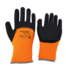 Water Repellent Thermal Insulated Cold Condition Safety Work Gloves For Commercial Fishing