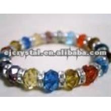 Fresh color crystal bracelet