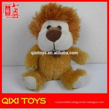 Fashion style plush lion toy decorative coin bank