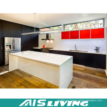 Muebles de gabinetes de cocina de madera modulares de la melamina (AIS-K367)