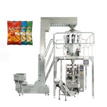 Упаковочная машина для подушек из картофельных чипсов для закусок