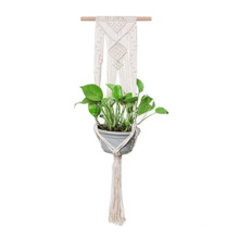 how to make macrame plant hangers video