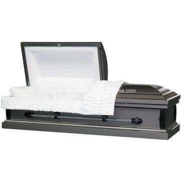 20 Ga en acier Nonsealer gris Simple cercueil