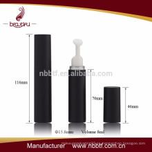 Plástico Botella vacía sin aire de 10ml con crema de ojos