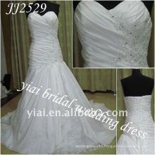 JJ2529 Free Shipping A-line style Sweetheart Taffeta Wedding dress