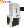 Enclosed 50w gold jewelry ring fiber laser marking machine with low price