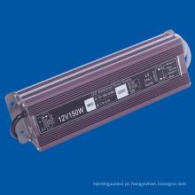 IP67 Impermeável 150W LED Driver DC12V Driver Lâmpada