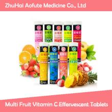 Multi Fruit Vitamin C Effervescent Tablets