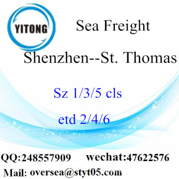 Shenzhen Port LCL Consolidamento A St. Thomas