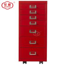 Custom kids room storage 7 door cabinet drawers
