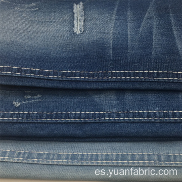 Tejido de hilo teñido Slub Denim Fabric al por mayor