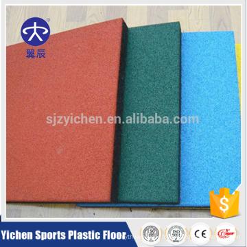 Yichen excellent rebond EPDM tapis de sol en caoutchouc