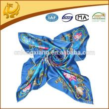 2015 New Design Flower Colorful Fashion Neckwear Silk Scarves Wholesale
