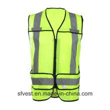 Haute qualité Haute Visibilité Sécurité Middle Long Vest