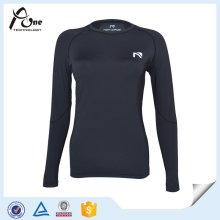 Lady Long Sleeve Wholesale Athletic Wear Compression Shirt
