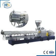 Nanjing CE double screw nylon/PA6 + GF/ Glass fiber pellet machine extruder