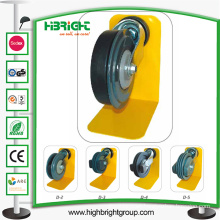 Shopping Trolley Single Flake Travelator Castor Wheels