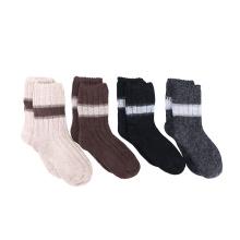 Design hot sell your own fashion women custom  wool winter socks