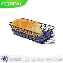 Black Powder Coating Scroll Bread Basket