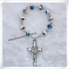 Fashion Beads Finger Rosary and Cross Finger Rosary, New Style Beads Rosary (IO-CE070)