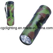 Antorcha de aluminio seco de la batería del LED (CC-015)
