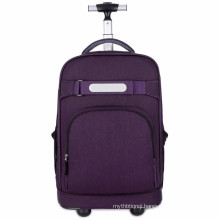 Carry On School Bags Wheeled Backpack Business Travel Trolley Backpack with Wheels