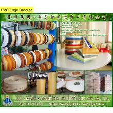 Bandas de borde de PVC, cinta de borde de PVC