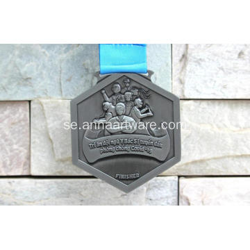 Custom Vietnam Sacombank Covid-19 Finisher Medal