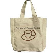 Fashion Style Shiny Laminated Cotton Bag