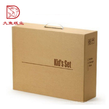 Cheap price custom printed recyclable foldable storage box with handle