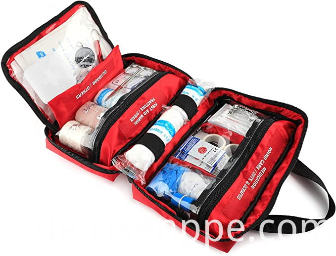 First Aid Kit, Exceeds OSHA Ansi Standards for 50 People