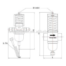water temperature valve used in Refrigeration