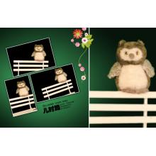 Cute Mini Owl Plush Toy
