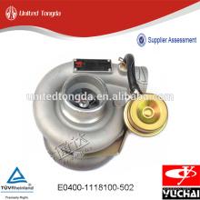 Turbocompressor Genuíno Yuchai para E0400-1118100-502