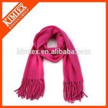 Wholesale red polar fleece scarf