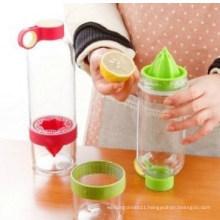 Lemon Cup Citrus Zinger Juice Source Vitality Clear Water Bottle