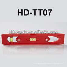 HD-TT07,Mini plastic level with V-groove for pipe