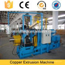 Máquina plana de extrusión de alambre de cobre