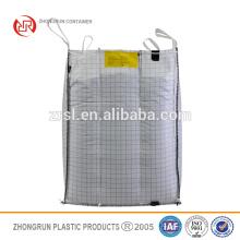 Bolsa Fibc super ton, bolsa antiestática, saco de pp para producto en polvo, bolsa grande de embalaje de grano