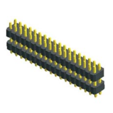 1.00mm Pitch Dual Row Dual Plastic Straight Type