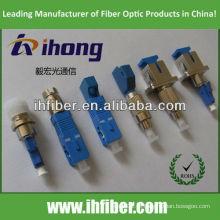 LC macho SC macho adaptador de fibra MM 62.5 / 125