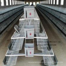 Henhouse de aço industrial da gaiola da galinha para colocar o pintainho de grelha