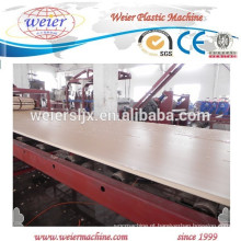 WPC pvc cozinha móveis da placa linha de fabricação