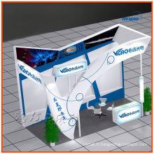 schéma de shell personnalisé best-seller, conception de stand d'exposition, fabrication à partir de Shanghai