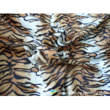 2012 Polyester Tiger Stripe Printed Pattern Fabric