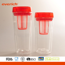 Hot Sale New Design Eco-Friendly ,Silicone Band Glass Cup