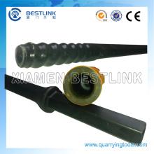 Schaft Hex 22 * 108mm R22 R25 Thread Bohrstange für Steinbrüche