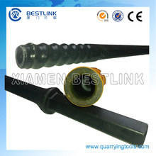 Shank Hex 22*108mm R22 R25 Thread Drill Rod for Quarrying